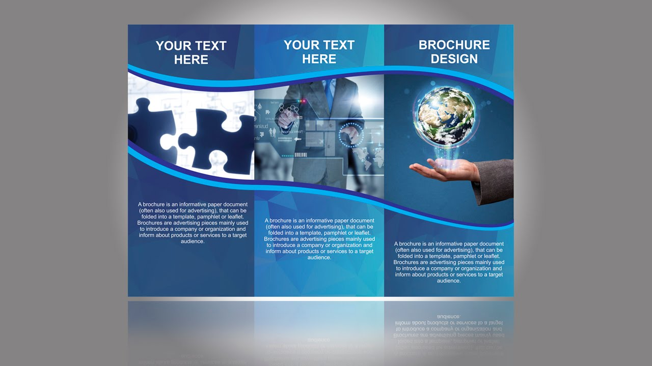 brochure design company in tagore garden